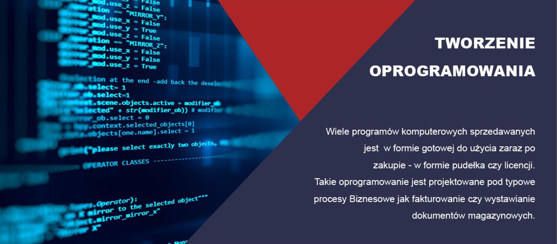 pisanie oprogramowania